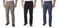Calvin Klein Jeans Men's Stretch Straight Leg Cotton Twill Pants Black Beige