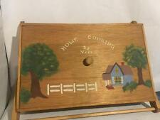 Handmade Country Home Cooking Farmhouse Wood CASSEROLE CARRIER HOlder