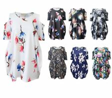 Casual Floral Polyester Tops & Shirts Plus Size for Women