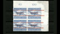 GERMANY OCCUPATION FELDPOST INSELPOST block of 4 Pr e 12,000 MNH
