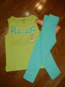 NWT Vtg 2014 Gymboree 2 pc Spring Pant Set size 5