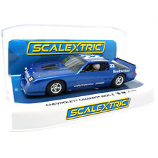 Scalextric C4145 Chevrolet Camaro IROC-Z - Blue 1/32 Slot Car