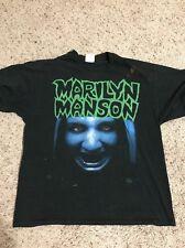 Marilyn Manson Satans Bake sale Winterland Shirt 90s Vintage Size XL