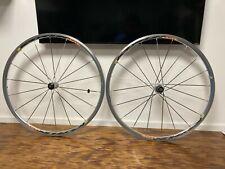 Mavic Ksyrium Elite Road Clincher Wheel Set Shimano/SRAM 9 -11 Speed 700C Silver
