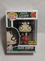 Funko Pop! Alice Cooper #69 Hot Topic Exclusive W/Protector