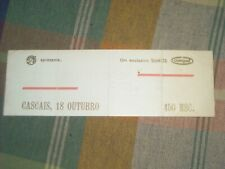 DURAN DURAN PORTUGAL CONCERT TICKET 1982