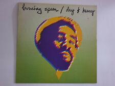 Burning Spear – Dry & Heavy - Vinyl - UK - 1977