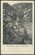 cartolina CAMERATA NUOVA  segheria industriale forestale