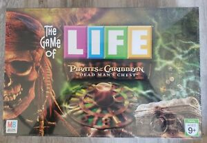 The Game Of Life Pirates Of The Caribbean Dead Man's Chest Edition Board Game