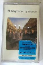 BOYZONE - ...BY REQUEST - Musicassetta Cassette Tape MC K7 - Sealed