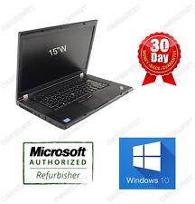 """Lenovo Thinkpad T530 intel 3rd i5 2.5GHz 4G 120G SSD W10H DVDRW Webcm 15"""" 3.0USB"""