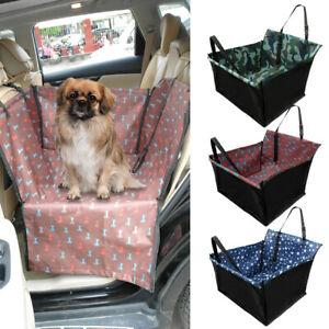 Dog Car Seat Covers Back Rear Seat Protector Pet Car Hammock Safe Travel Booster