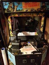 Operation Thunderbolt Arcade machine works great.