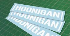 HOONIGAN WINDOW STICKER VINYL DECAL LOWERED DRIFT JDM EURO HONDA VW BMW illest
