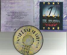 Dwayne Wiggins TONY TONI TONE If I had no Lot 3TRX PROMO DJ CD single 1993 USA