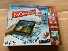 Hasbro Monopoly Zapped Edition Works With iPad, iPhone, iPod Trading Board Game