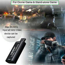 4K 1080P HDMI To USB 2.0 Video Capture Card Game Recording for Streaming Youtube