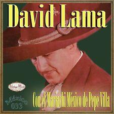 DAVID LAMA Mexico Collection CD #33/100 MEXICAN Ranchera Corrido Mariachi polka