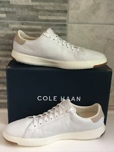 COLE HAAN🇺🇸GRANDPRO OS LEATHER MEN'S TRAINERS🇺🇸Size UK 10🇺🇸Fashion/Sport