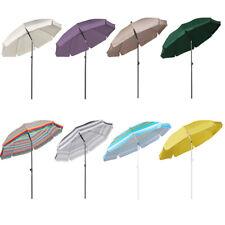 200cm Sonnenschirm Marktschirm Gartenschirm Terrassenschirm Sonnenschutz UV