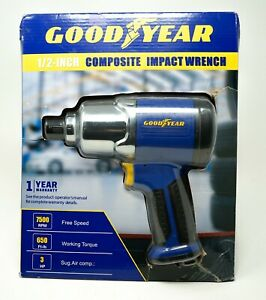 """Goodyear 1/2"""" 3HP Composite Air Impact Wrench RP17407 - NEW!!!"""