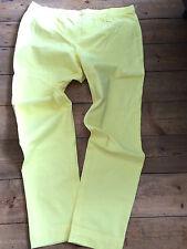 Lemon Yellow stretch Jeggings - UK Size 24