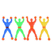 10pcs Slime Viscous Climbing Spiderman Squeeze Somersault Villain Toys Chic LJ