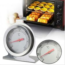 Stainless Steel Oven Cooker Thermometer Mini Grill Temperature Gauge Baking Tool