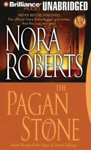 The Pagan Stone by Nora Roberts SEALED (2008, Unabridged) 9 CDs