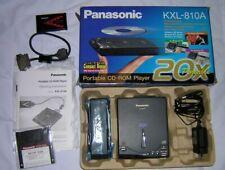 Panasonic Portable External 20x PCMCIA SCSI CD-ROM Drive Complete Kit KXL-810a
