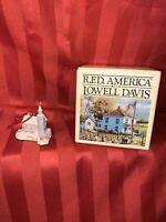 Schmid Lowell Davis RFD America Church Steeple Country Christmas Ornament W/ Box