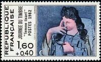 "FRANCE STAMP TIMBRE YVERT N° 2205 "" JOURNEE DU TIMBRE 1982 PICASSO "" NEUF xx TTB"