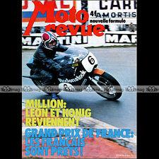 MOTO REVUE N°2213 GUZZI 250 TS BULTACO BIANCHI SYLVAIN GEBOERS TCHERNINE 1975