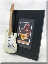 RICHIE BLACKMORE Miniature Guitar Frame Deep Purple