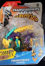 Transformers prime beast hunters deluxe twinstrike-new in hand