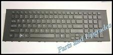 """OEM SONY Vaio VPC-EJ VPCEJ 17.3"""" Series Black Keyboard 148971811 With Frame NEW"""