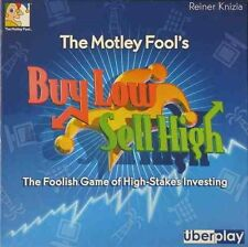 Motley Fool's Buy Low Sell High - Board game - NEW