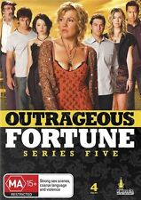 Outrageous Fortune Series - Season 5 (DVD, 4-Disc Set) NEW