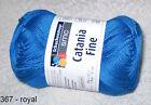 (4,60€/100gr) 50 gr CATANIA FINE von Schachenmayr 100% Baumwolle Farbwahl