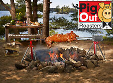 The Ultimate Charcoal Pig Roaster Rotisserie - BBQ Pig, Lamb, Chicken, Goat!