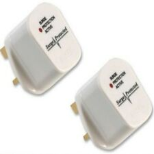10  Anti Spike / Surge Protection UK Plug Top - 13 Amp wireable extension plugs