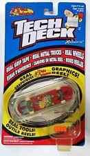 RARE Vintage TECH DECK World Industries Fingerboard Skateboard REAL TOOLS! XMAS!