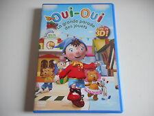 DVD 3D - OUI-OUI LA GRANDE PARADE DES JOUETS - ZONE 2