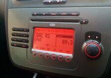Genuine Seat Altea CD Radio Player Aux mp3 Activated + Audio Code Warranty