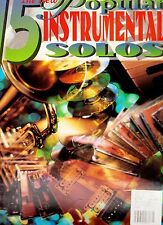 The New 15 Popular Instrumental Solos for Clarinet. New Music Book.