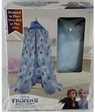 Disney Frozen 2 Bed Canopy Princess Elsa And Princess Anna Brand New Color Blue