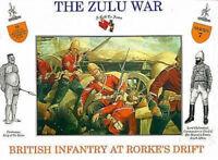 CALL TO ARMS ZULU WAR BRITISH INFANTRY RORKE'S DRIFT 16 Figures 1/32 FREE SHIP