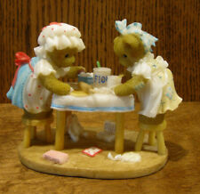 """Cherished Teddies #CT1103 CAMY and EMMIE """"COOKING UP SOME FUN"""" 2011 CLUB EXCL"""