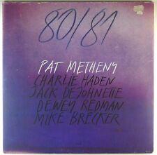"12"" LP-Pat Metheny - 80/81 - m923-Slavati & cleaned"