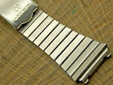 Vintage Watch Band 20mm Deployment Clasp Stainless Pre-Owned Seiko Bracelet